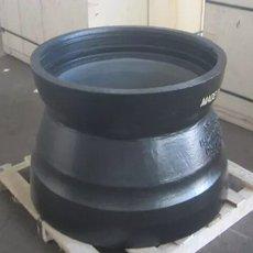 三维管件厂家直销球墨铸铁承插大小头