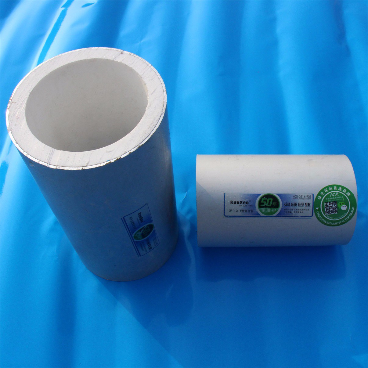 润硕 阻氧型铝合金衬塑复合管厂家