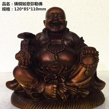 供应 脱蜡铸造纯铜佛像定制