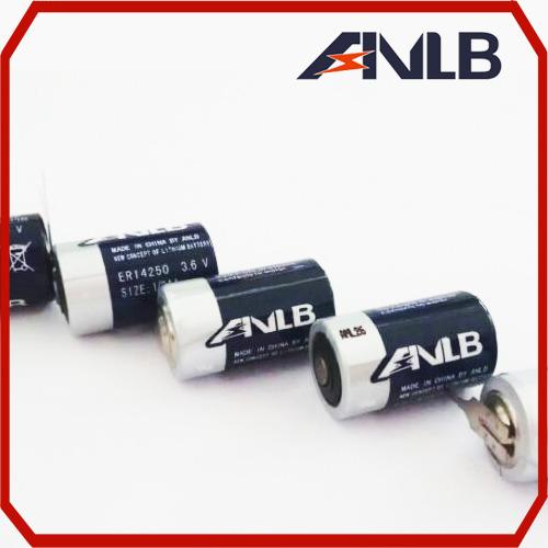 安能 ER14250一次性锂电池 3.6V ER14250一次性锂电池 ER14250