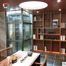 杭州OTSE钢带平台式别墅电梯 楼梯中间小空间底坑仅需200mm 家用电梯
