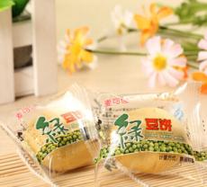 供应 新品绿豆饼 休闲食品 皮薄馅厚绿豆饼绿豆馅 小吃零食