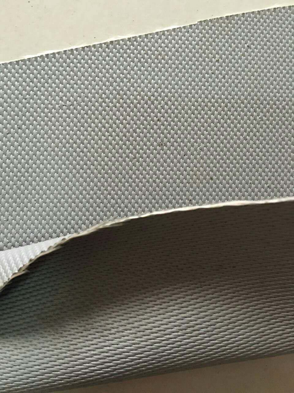 康杰 软连接硅钛防火布生厂商 耐高温耐酸碱防火硅胶防火布
