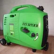 翰丝HS3200IN绿色款3KW便携式发电机价格