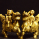 供应 纯铜麒麟送子摆件铜雕