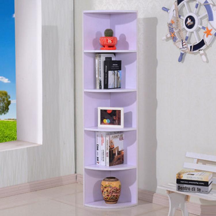 特價客廳臥室 簡約轉角墻角柜三角柜 置物柜拐角邊柜書柜子