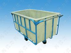 厂家低价直销:印染厂用定制周转承布车 漂染专用方形桶承布车 玻璃钢洗水承布车