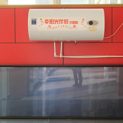厂家直销阳台壁挂平板太阳能热水器 高效吸热太阳能热水器