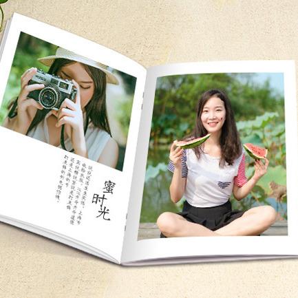 重庆涪陵真本原旅行纪念册相册定制