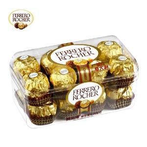特价热卖品 原装意大利进口费列罗T16粒榛仁威化巧克力 最新日期