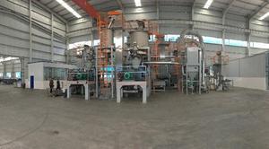 钒氮合金原料制球成套设备生产线价格