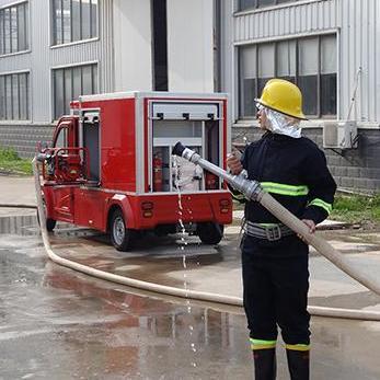 天盾水罐消防车 1吨水罐车 配手抬消防泵 灭火效果好