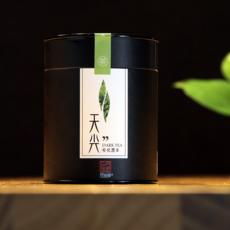 文益牌安化黑茶 贡品天尖茶叶 2012年老黑茶陈年天尖散茶罐装200g