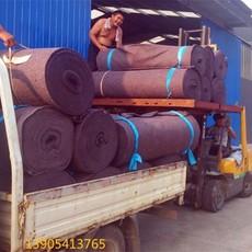 山东厂家直销针刺无纺布池塘护坡防冲刷产量大供货及时