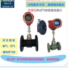 热式气体质量流量计压缩空气流量测量器 DN32法兰安装