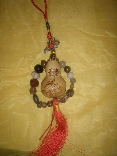 工艺葫芦中国结 流苏挂件葫芦图片