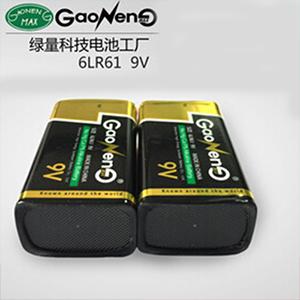 碱性锌-锰干电池 高能新光 6LR61 碱性9V干电池 环保仪表测线万用表电池 电池厂家直销