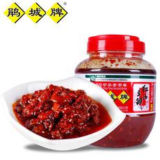 红油豆瓣 郫县豆瓣酱 750g大瓶 鹃城牌