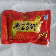 川菜调味品  郫县鹃艳豆瓣酱 红油豆瓣200g*40袋  整件销售