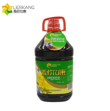 利尔康胡麻菜籽油4L物理压榨非转基因厂家直销