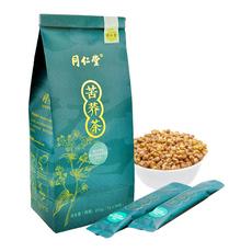 同仁堂牌苦荞茶273克 全胚芽大颗粒袋装养生茶