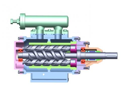 HSG440*2-46三螺杆泵厂家直销