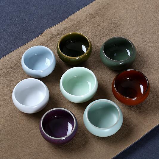 供应 耀州窑茶杯陶瓷茶具