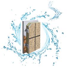 廊坊兴达  供应保温装饰一体板  多彩理石漆系列饰面一体板