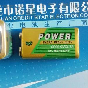 诺星6LR61碱性9V电池 报警器 万用表 阀门 电池MSDS SGS认证电池 批发 厂家报价