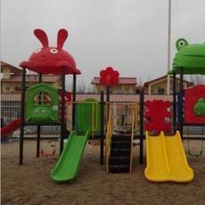 现供应儿童多功能滑梯 安全环保可靠滑梯 幼儿园游乐场滑梯
