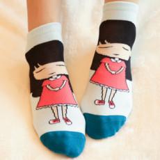 12星座主题棉袜船袜