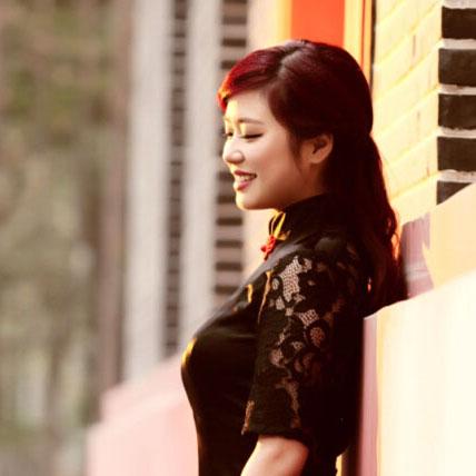 江旗袍手工旗袍专属高端定制-红梅玲珑