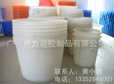 厂家供应:优质全新塑料pe周转圆桶 耐磨损家用蓄水pe圆桶 一次成型化工圆桶
