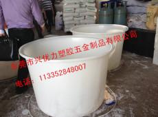 厂家直销:白色圆形家用储水桶 可重叠耐磨损圆形装布桶 优质塑料化工桶