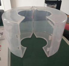 PP耐酸碱保护罩,法兰防护套