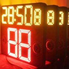 易彩通篮球电子24秒计分牌 五位单面 显示器(一对)
