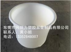 厂家供应:食品级塑料泡菜腌制桶 耐磨损塑料圆形化工大白桶 pe塑料大口蓄水圆桶