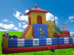 供应 蓝梦岛气模玩具 充气蹦蹦床 充气玩具 大型迪士尼充气城堡