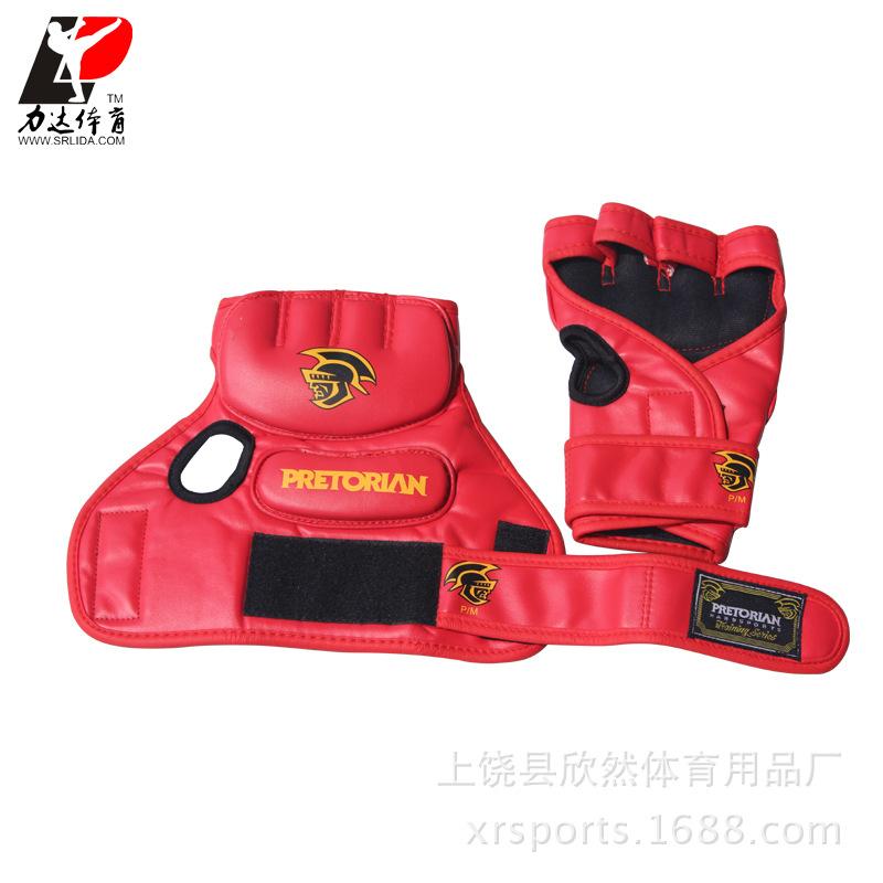 半指手套 UFC训练 MMA打沙包拳套格斗搏击手套