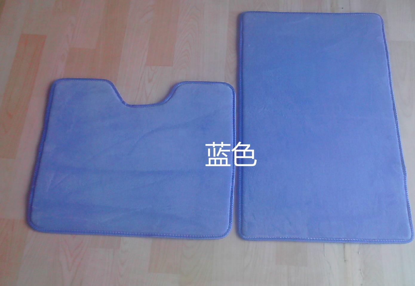 新款特价马桶地垫吸水厕所脚垫马桶u型垫卫生间地毯