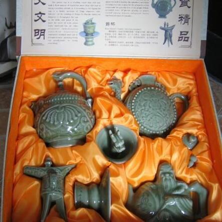 供应 工艺品耀州瓷