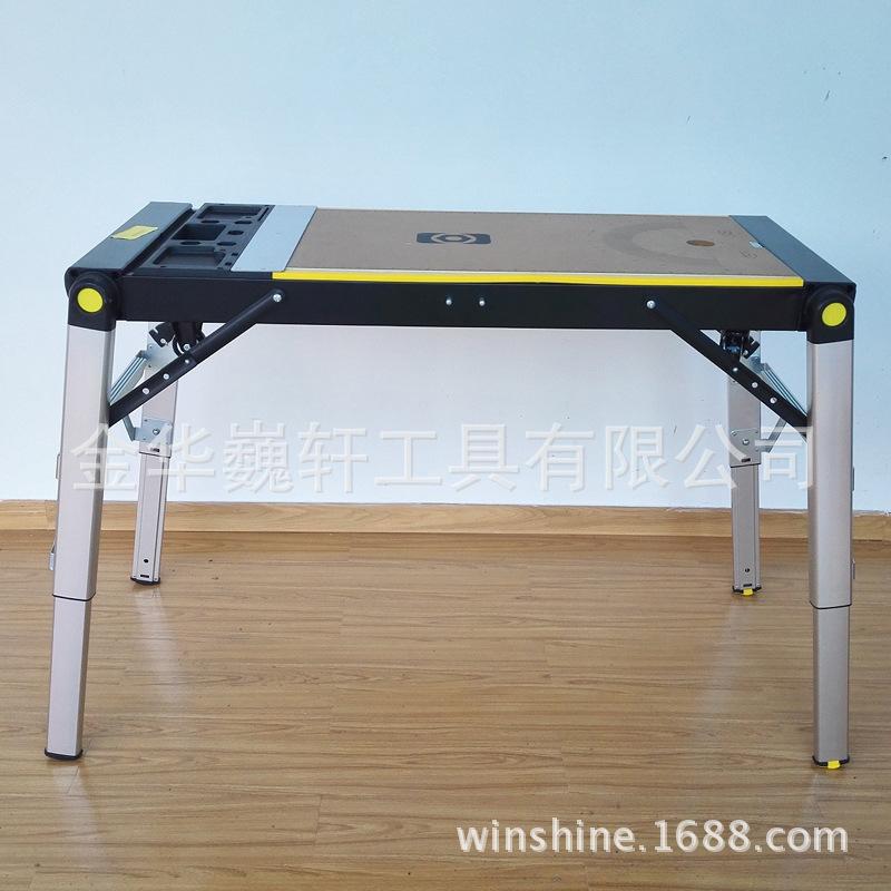 登高凳手推车脚手架家用折叠洗车台四合一多功能铝合金工作台