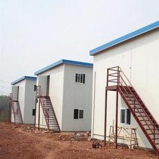 北京岩棉防火复合板活动房张家口厂家低价供应彩钢活动房