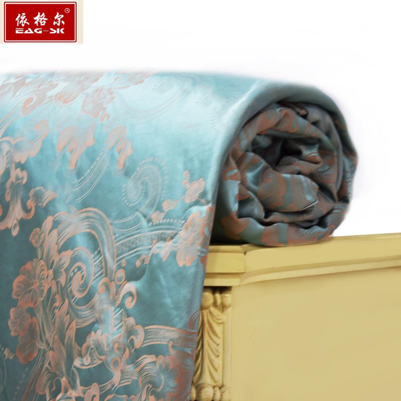依格尔 经典出品 100%桑蚕长丝蚕丝被 200X230cm 双人夏凉被  春秋被 净重400克
