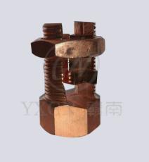 全铜铜螺栓型线夹 全铜铜螺栓型线夹价格 全铜铜螺栓型线夹厂家