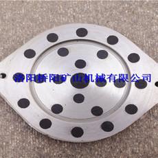 圆形闸瓦260X205X22 矿井用带钢背闸瓦