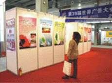 北京全新展板 八棱柱挂画展板租赁、八棱柱器材销售