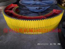 供应各型号球磨机大齿轮 定制磨机齿轮