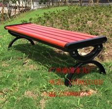 室外休闲座椅,园林实木椅,户外铸铁椅