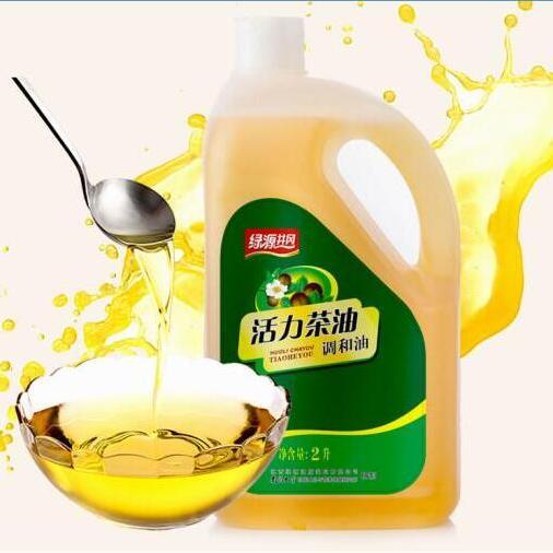 供应 绿源井冈 活力茶油调和油2L